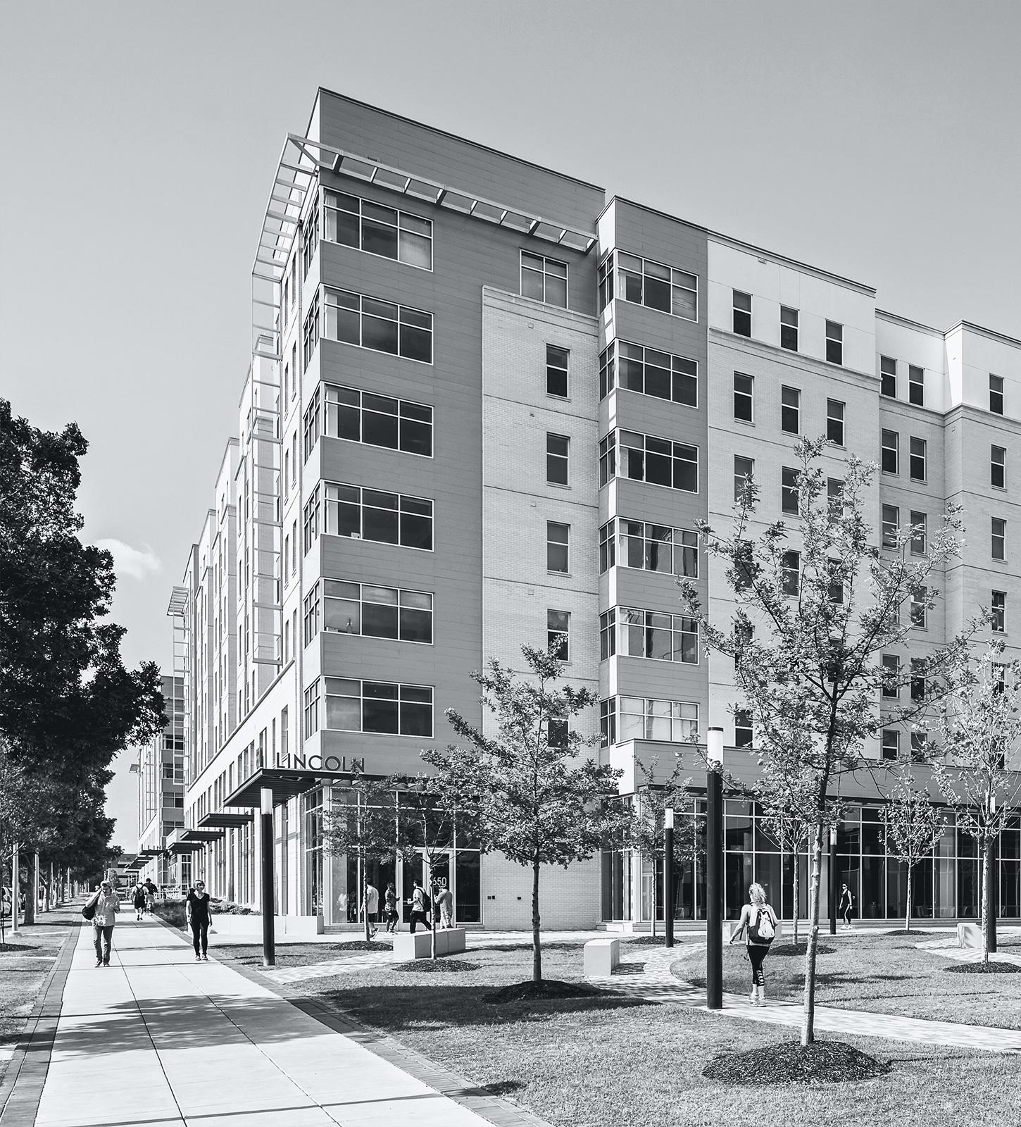 USC Student Housing Exterior